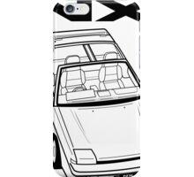 Nissan Pulsar NX Action Shot iPhone Case/Skin