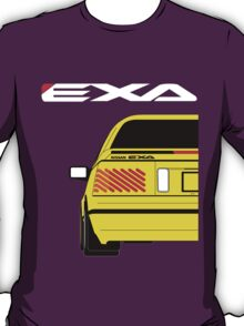 Nissan Exa Coupe - Yellow T-Shirt