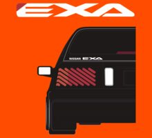Nissan Exa Sportback - Black Kids Clothes