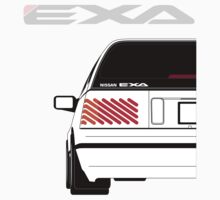 Nissan Exa Sportback - White by SEZGFX