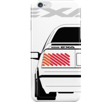 Nissan Exa Coupe - White iPhone Case/Skin
