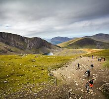 Walking Up Snowdon by Heidi Stewart