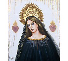 Crowned For Love Photographic Print