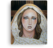 Behold Your Mother Canvas Print