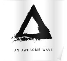 An Awesome Wave Poster