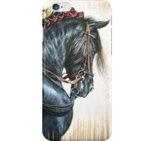 Black Andalusian Beauty iPhone Case/Skin