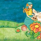 The Milkmaid Collection - Illustration Nr. 4 by silvianeto