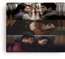 Scira [Cuddling] Canvas Print