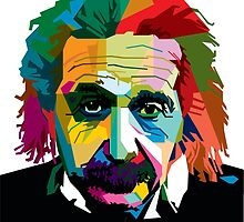 albert einstein by fick