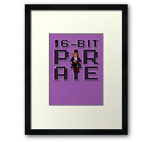 Guybrush - 16-Bit Pirate Framed Print