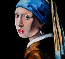 Girl with the Pearl Earring by Andrew Taylor