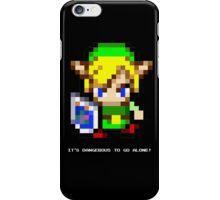 Link Sprite (Zelda) iPhone Case/Skin