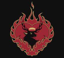 Stannis Baratheon Sigil II (Black Tee) T-Shirt