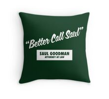 Breaking Bad - Better Call Saul Throw Pillow