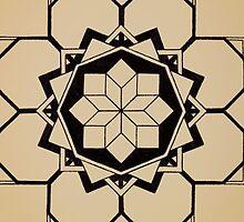 Mandala #205 || Tan by RedBookJournals