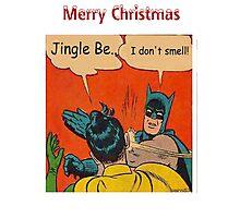 Batman Smells Photographic Print