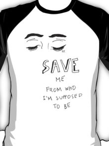 5 Seconds Of Summer Social Casualty lyrics T-Shirt