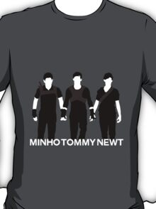 Newt Minho And Tommy T-Shirt