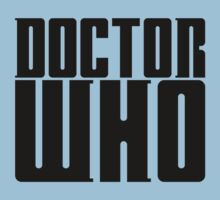 Doctor Who by televisiontees