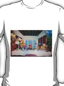 Mario the Last Supper T-Shirt
