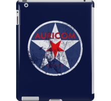 Wipeout - Auricom - 50s Style iPad Case/Skin
