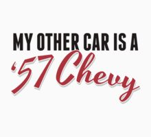 Limited Edition 'My Other Car is a '57 Chevy' Collector's T-Shirt by Albany Retro