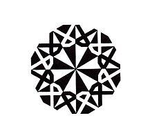 Mandala #216 || Mono by RedBookJournals