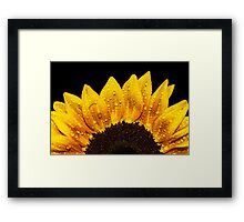 Happiness is Yellow Framed Print