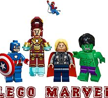 Lego Marvel Heroes by Ariell