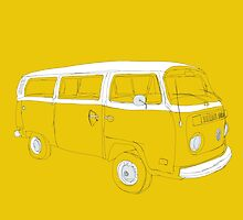 VW T2 Microbus by Martin Lucas