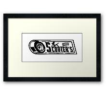 Scooter's Workshop Framed Print