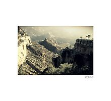 Valley of Grand Canyon Photographic Print