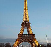 Paris - Eifel tower by Fl0werdauqhter