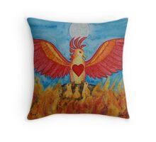 Born of Fire Throw Pillow