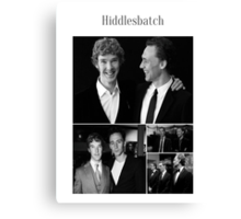 Benedict Cumberbatch and Tom Hiddleston Canvas Print