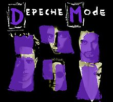 Depeche Mode : Paint of Song Of Faith and Devotion - Without title by Luc Lambert