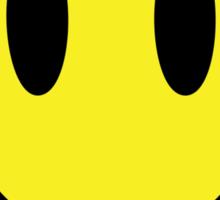 Bullet Smiley Sticker