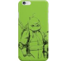 Turtle Power TMNT 1990 Pencils iPhone Case/Skin