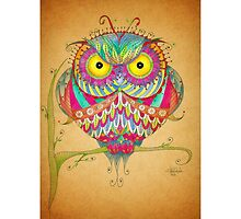 """"""" Angry Owl """" by IsabelSalvador"""