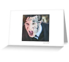Mister Clever Greeting Card