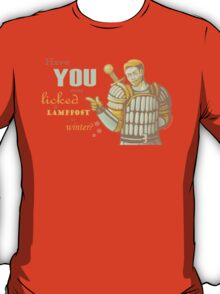Alistair- Have you ever licked a lamppost in winter? T-Shirt