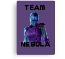 Team Nebula (Black) Canvas Print
