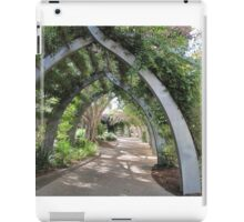 South Bank Arches & Bouganvillea. Brisbane, Queensland.Aust. iPad Case/Skin