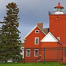 Agate Bay Lighthouse by Robin Clifton