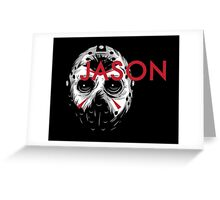 Jason Greeting Card