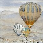 Hot air balloons Turkey Cappadocia id1270423 by Almondtree