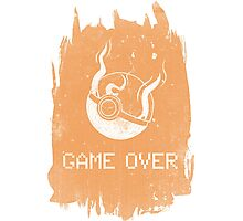 Game Over Charizard Photographic Print