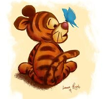 Baby Tigger by Leanne Huynh