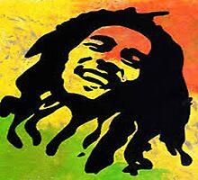 Bob Marley by niggah in paris