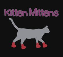 Kitten Mittens by hauntedhouse